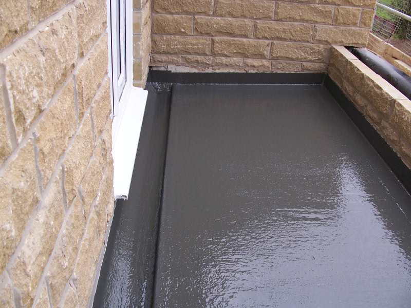 Fibreglass Flat roofing in Sheffield on new build property